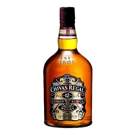 Whisky Escocês Chivas Regal 12 anos - 1L