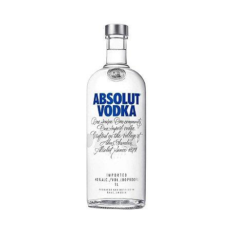 Vodka Sueca Absolut Original - 1 Litro
