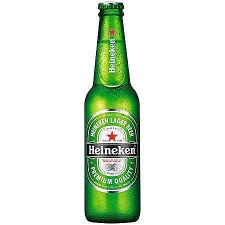 Cerveja HEINEKEN Lager Beer  Garrafa 600ml-Cx 12