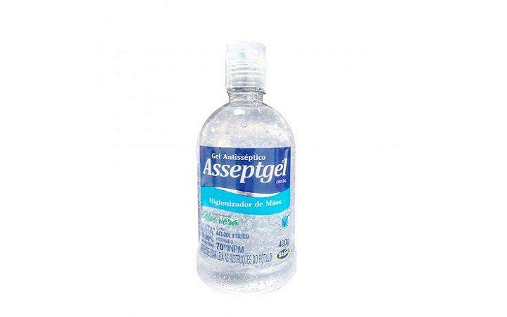 Álcool em Gel  Asseptgel Antisséptico-420g