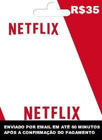 R$35 de saldo para Netflix