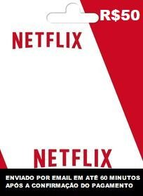 Netflix Recarga de R$50
