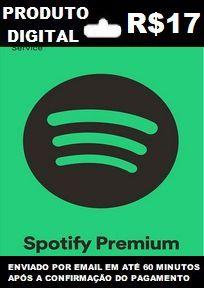 Spotify Recarga de R$17