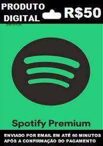 Spotify Recarga R$50