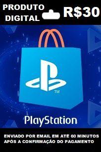 Playstation Store Brasil Recarga de R$30