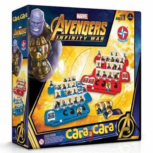 Cara a Cara Avengers Infinity War - Estrela