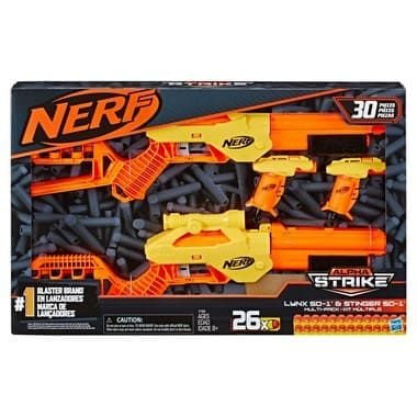 Nerf Alpha Strike Lynx Sd-1 & Stinger Sd-1 - Hasbro