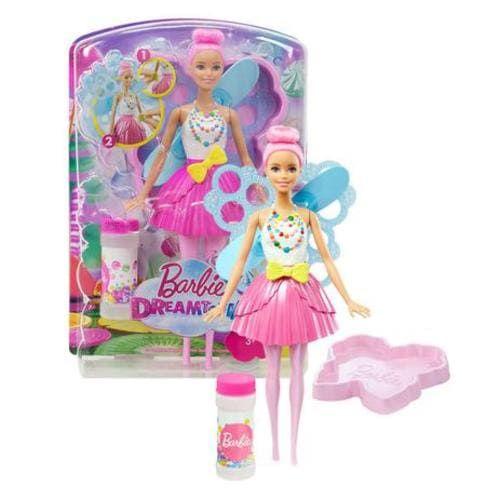 Barbie Fada Bolhas Mágicas - Mattel