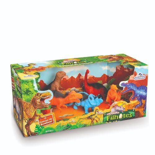Dinossauros Filhotes - Adijomar