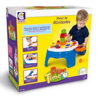 Play Time Mesa Atividade Azul - Cotiplás