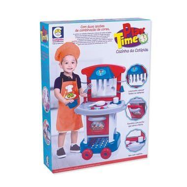 Play Time Cozinha da Cotiplás Azul - Cotiplás