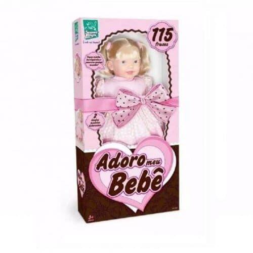 Boneca Adoro Meu Bebê - Super Toys