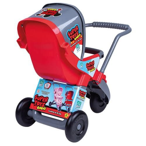 Carrinho 3 Rodas Vermelho - Super Toys
