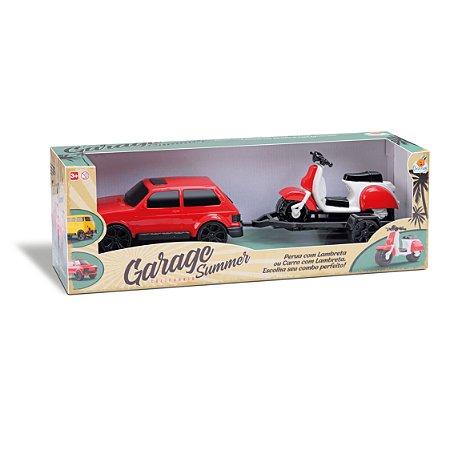 Brasília Garage Summer - Orange