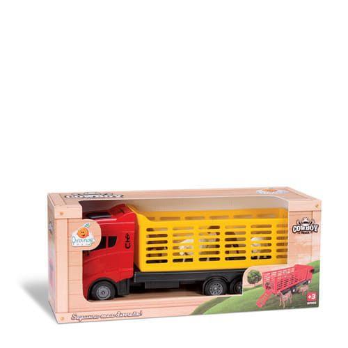 Cowboy Truck - Orange