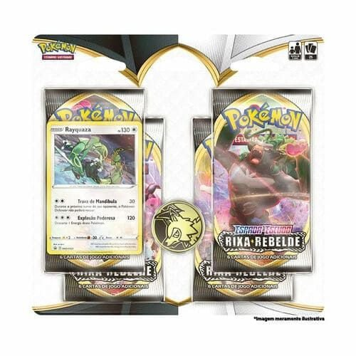 Blister Quadruplo Pokémon EE2 Rixa Rebelde – Copag