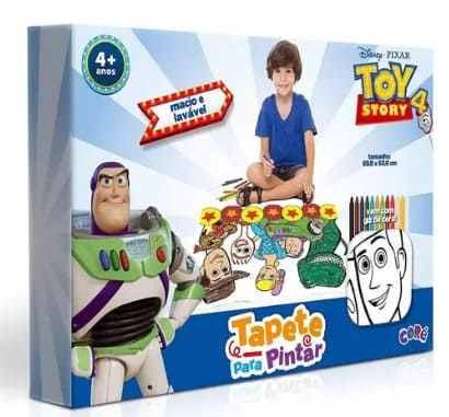 Tapete para Pintar Toy Story - Toyster