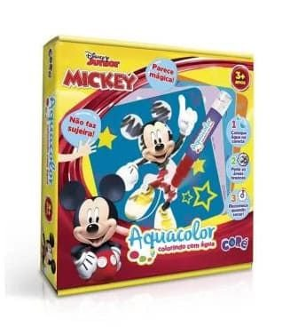 Mickey Aquacolor Colorindo com Água - Toyster