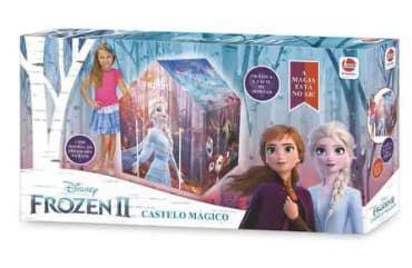 Barraca Castelo Mágico Frozen 2 - Líder Brinquedos