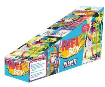 Patinete Infantil Com 3 Rodas e Freio - Samba Toys