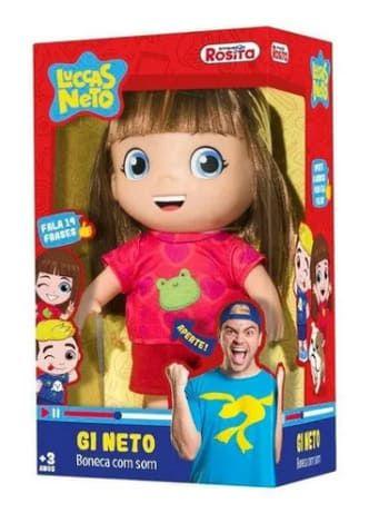 Boneca Gi Neto - Rosita