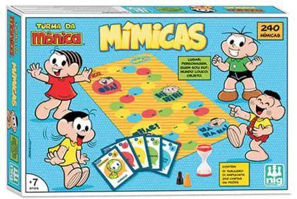 Jogo Mimicas Turma Da Mônica - Nig