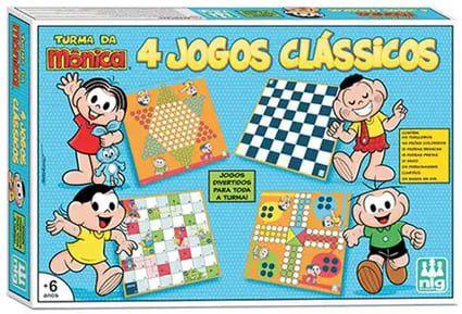 Jogo 4x1 Turma da Mônica - Nig