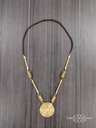 Colar Capim Dourado Cód. C3 - Hipoalergênico