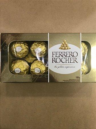 Chocolate Ferrero Rocher com 8 unidades