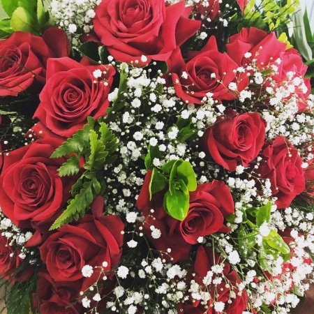 Buquê Maravilha de Rosas Colombianas
