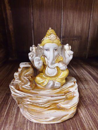 Incensário Cascata Ganesha - 10 cm