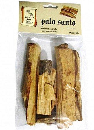 Incenso palo santo 100% natural 50 grs madeira sagrada do Perú