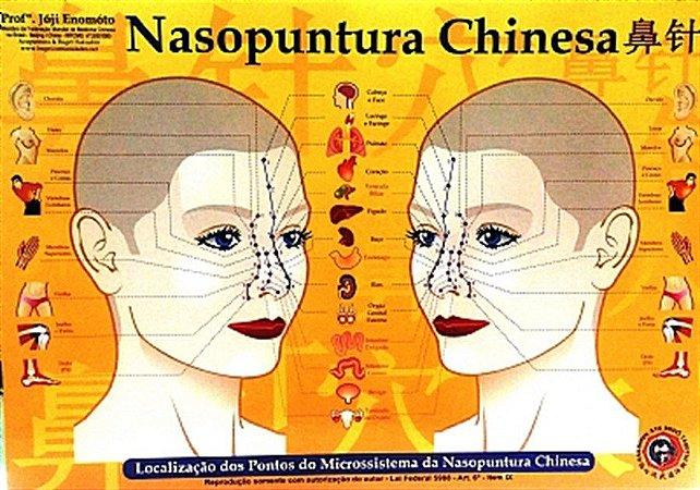 MAPA NASOPUNTURA CHINESA