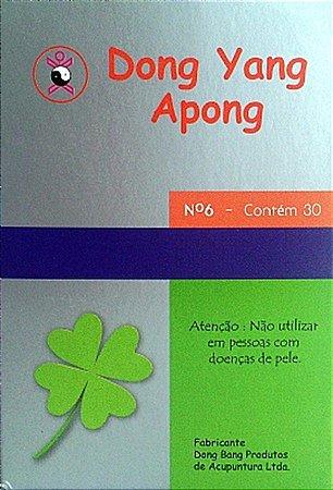 APONG COM ADESIVO 6 PONTOS