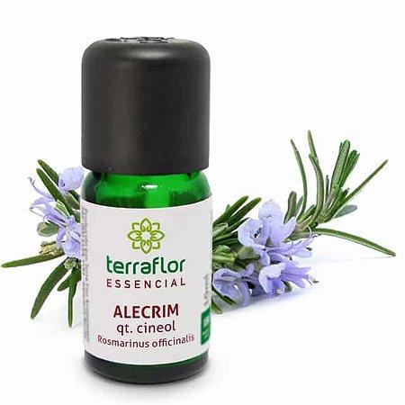 Óleo Essencial de Alecrim qt Cineol 10ml - Terra Flor