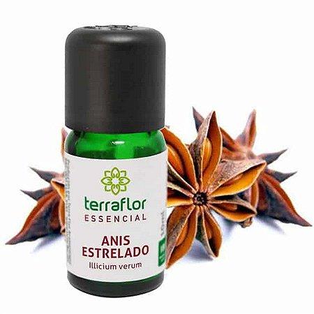 Óleo Essencial Natural de Anis Estrelado 10ml – Terra Flor