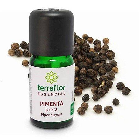 Óleo Essencial Natural de Pimenta Preta 10ml – Terra Flor