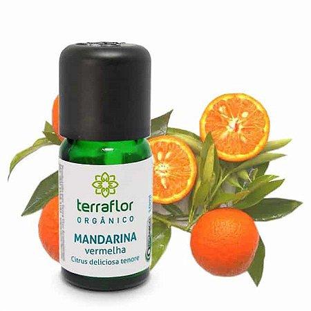 Óleo Essencial Mandarina Vermelha Orgânico 10ml - terra flor