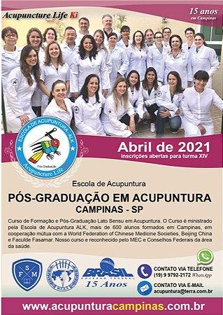 PÓS-GRADUAÇÃO EM ACUPUNTURA CAMPINAS 2021