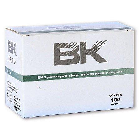 Lançamento!!!!!  Agulha Sistêmica Para Acupuntura BK - cx com 1000