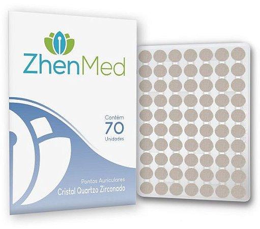 Ponto Cristal Zirconado Para Auriculoterapia - Zhenmed