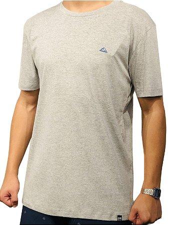 Camiseta Reef básica still com estampa cinza