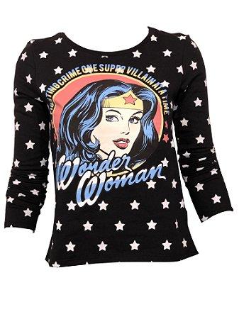 Moletom DC Wonder Woman PR9733