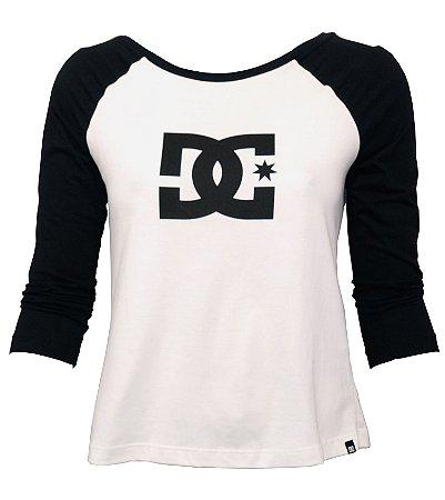 camiseta feminina DC 3/4 - Classic