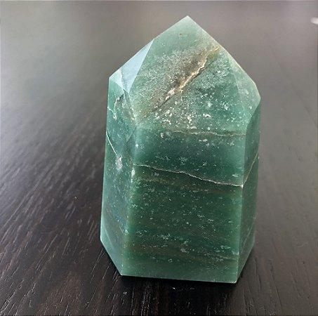 Ponta de Quartzo Verde M