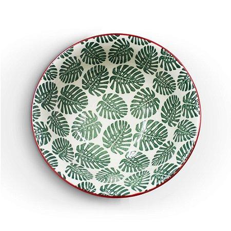 Bowl Costela de Adão Verde Escuro M