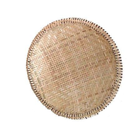 Bandeja em Fibra de Bambu e Cipó G