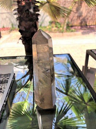 Obelisco Quartzo Fumê M