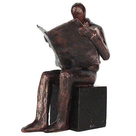 Estatueta Libro