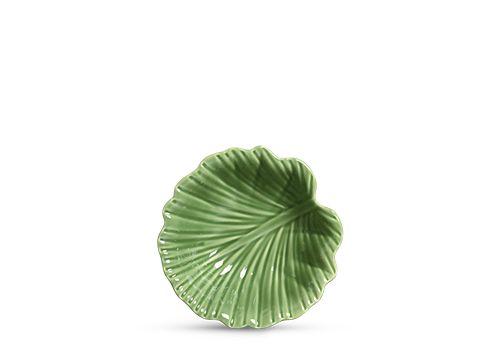Tigela Leaves Verde M